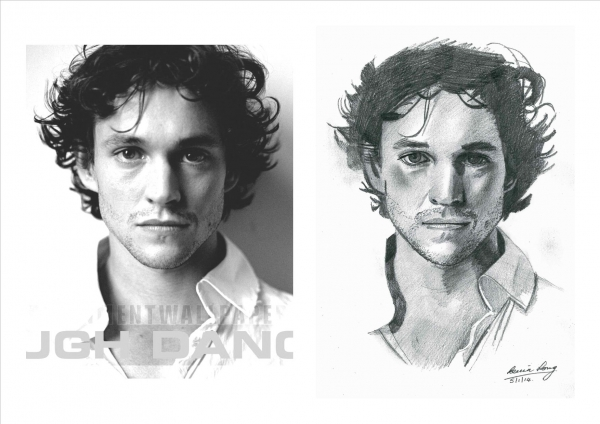 Hugh Dancy by KLARTWORK